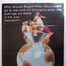 Cine: ANGEL,ANGEL, DOWN WE GO MOVIE POSTER, ORIGINAL, 1SH, 1969.. Lote 113517899