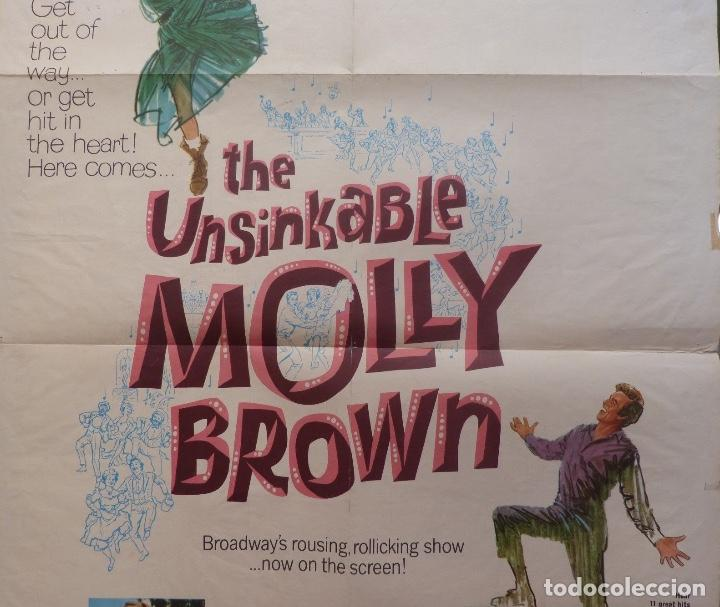 Cine: The unsinkable molly brown movie poster,1964, Metro-Goldwyn-Mayer. - Foto 3 - 113519715
