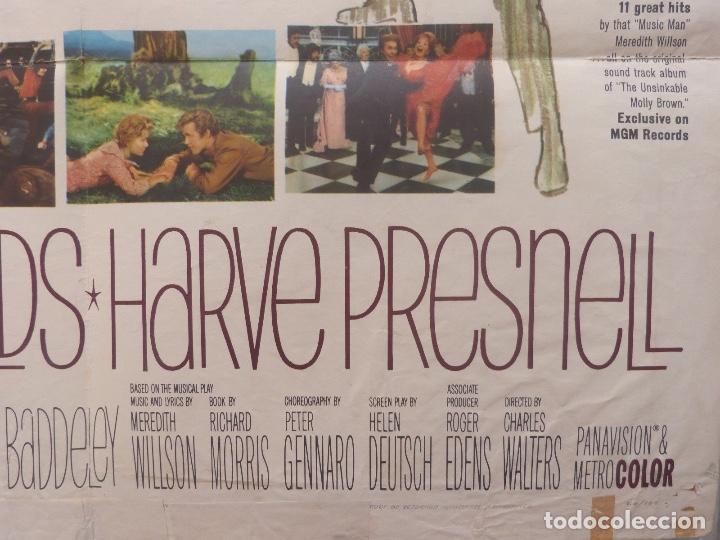 Cine: The unsinkable molly brown movie poster,1964, Metro-Goldwyn-Mayer. - Foto 7 - 113519715