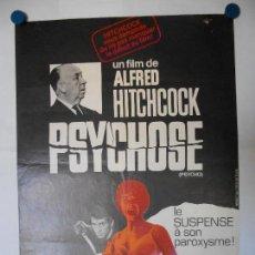 Cine: PSYCHOSE (PSICOSIS) - ALFRED HITCHCOCK - CARTEL LITOGRAFICO ORIGINAL FRANCES 80 X 60. Lote 113520823