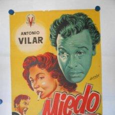 Cine: MIEDO - CARTEL LITOGRAFICO ORIGINAL 70 X 100. Lote 113522219