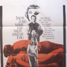 Cine: THE ANNIVERSARY MOVIE POSTER MOVIE POSTER,1967,1 SHT,CENTURY FOX.(BETTE DAVIS ). Lote 113522223