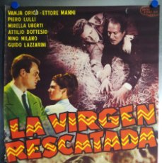 Cine: LA VIRGEN RESCATADA. VANJA ORICO, ETTORE MANI. AÑO 1958. Lote 113573087