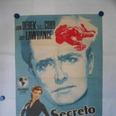 Cine: SECRETO DE FAMILIA - CARTEL LITOGRAFICO ORIGINAL 70 X 100. Lote 113621843
