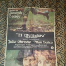Cine: CARTEL CINE GRAN FORMATO EL MENSAJERO JOSEPH LOSEY. Lote 113644627