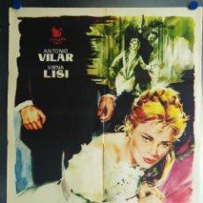 Cine: FELIPE DERBLAY. ANTONIO VILAR, VIRNA LISI. AÑO 1959. Lote 113662435
