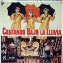 Cine: CANTANDO BAJO LA LLUVIA. GENE KELLY-STANLEY DONEN. CARTEL ORIGINAL 70X100. Lote 113979391