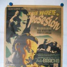 Cine: LA POSESION - RENAU - CARTEL LITOGRAFICO ORIGINAL MEXICANO 70 X 100. Lote 114172923