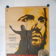Cine: NAZARIN - CARTEL LITOGRAFICO ORIGINAL MEXICANO 70 X 100. Lote 114178047