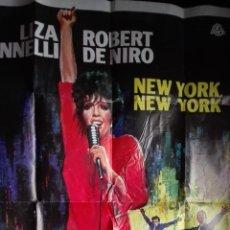 Cine: CARTEL POSTER CINE ORIGINAL AÑOS 70 NEW YORK, NEW YORK EN ESPAÑOL. Lote 114189519