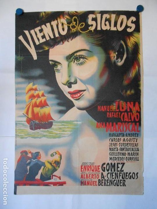 VIENTO DE SIGLOS - CHAPI - CARTEL LITOGRAFICO ORIGINAL - 70 X 100 (Cine - Posters y Carteles - Clasico Español)