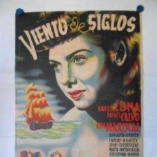 Cine: VIENTO DE SIGLOS - CHAPI - CARTEL LITOGRAFICO ORIGINAL - 70 X 100. Lote 114331183