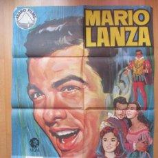 Cine: CARTEL CINE, EL GRAN CARUSO, MARIO LANZA, ANN BLYTH, JANO, 1970, C401. Lote 114368103