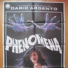 Cinéma: CARTEL CINE, PHENOMENA, DARIO ARGENTO, JENNIFER CONNELLY, JANO, 1985, C735. Lote 114381823