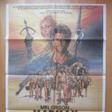 Cine: CARTEL CINE, MAD MAX, MAS ALLA DE LA CUPULA DEL TRUENO, TINA TURNER, MEL GIBSON, 1985, C765. Lote 114382675