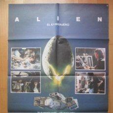 Cine: CARTEL CINE, ALIEN EL 8º PASAJERO, SIGOURNEY WEAVER, 1979, C797. Lote 114384539