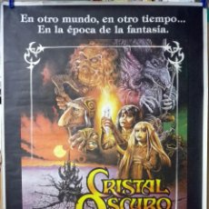 Cine: ORIGINALES DE CINE: CRISTAL OSCURO (JIM HENSON) 70X100 SIN DOBLECES. Lote 114494979