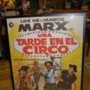 Cine: CARTEL CINE HERMANOS MARX. PELÍCULA UNA TARDE EN EL CIRCO. ENMARCADO. ORIGINAL.. Lote 114686563