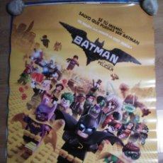 Cine: BATMAN, LA LEGO PELICULA V2 - APROX 70X100 CARTEL ORIGINAL (L56). Lote 114745275