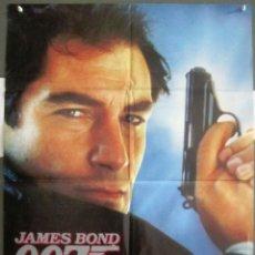 Cine: YH21 007 ALTA TENSION JAMES BOND TIMOTHY DALTON POSTER ORIGINALAVANCE 70X100 ESTRENO. Lote 114880139