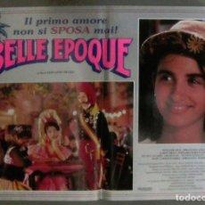 Cine: YH35 BELLE EPOQUE PENELOPE CRUZ MARIBEL VERDU TRUEBA POSTER ORIGINAL ITALIANO 47X68. Lote 114925795