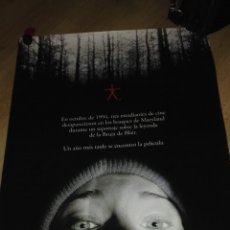Cine: POSTER ORIGINAL DE LA PELICULA THE BLAIR WITCH PROJECT / MEDIDAS 98X61 CMS. Lote 114949260