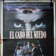 Cine: ORIGINALES DE CINE: EL CABO DEL MIEDO 70X100. Lote 115122099