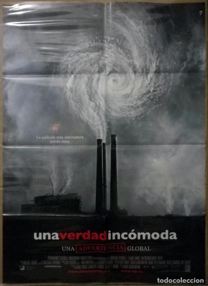 ORIGINALES DE CINE: UNA VERDAD INCÓMODA - 70X100 (Cine - Posters y Carteles - Documentales)