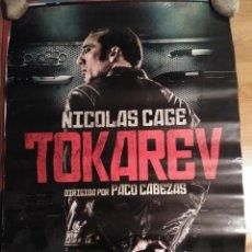 Cine: TOKAREV - APROX 70X100 CARTEL ORIGINAL (L56). Lote 115257439