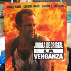Cine: POSTER JUNGLA DE CRISTAL LA VENGANZA 70X100 ORIGINAL CINE. Lote 115370934