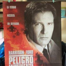 Cine: POSTER PELIGRO INMINENTE 70X100 ORIGINAL CINE. Lote 115372235
