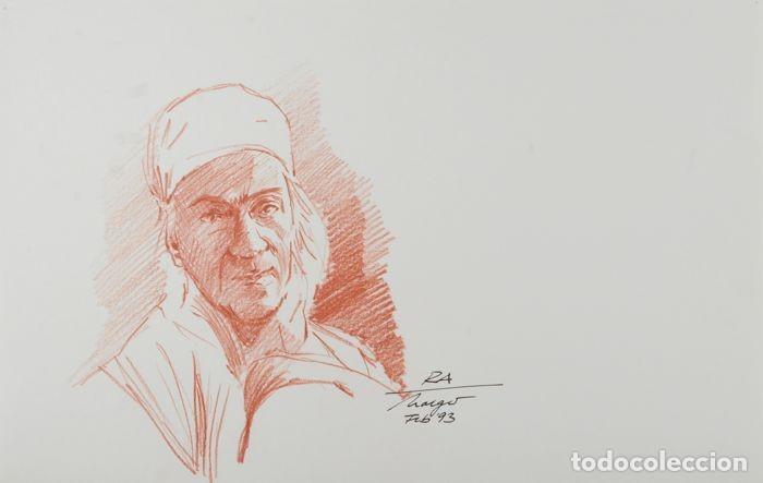 STARGATE. DIBUJO ORIGINAL DE HOLGER GROSS PARA DISEÑO DE PERSONAJES Y PRODUCCIÓN DE LA PELICULA (Cine - Posters y Carteles - Ciencia Ficción)