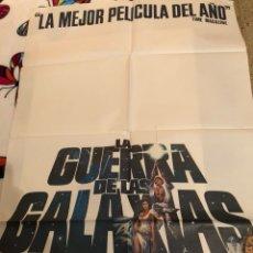 Cine: CARTEL LA GUERRA DE LAS GALAXIAS. Lote 115875603