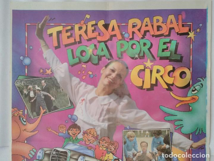 Cine: CARTEL CINE, LOCA POR EL CIRCO - TERESA RABAL - RAFAELA APARICIO - RAFAEL ALONSO, 1981, C314 - Foto 2 - 195242390