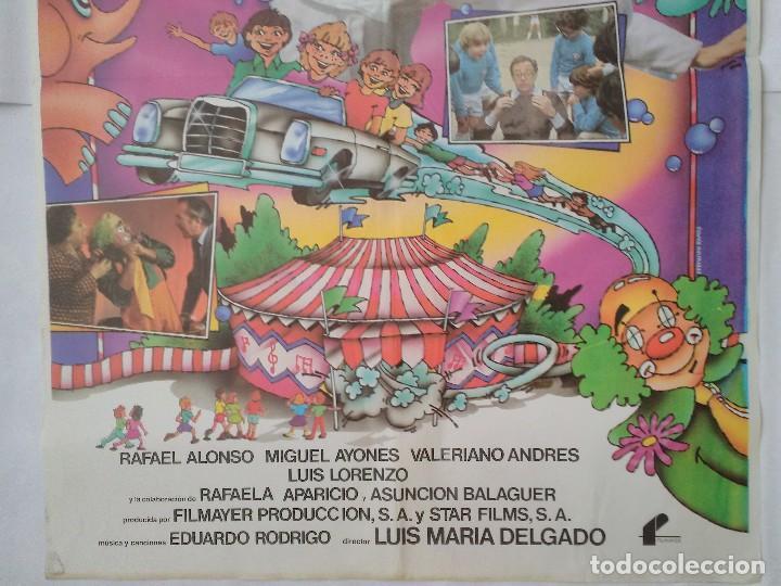Cine: CARTEL CINE, LOCA POR EL CIRCO - TERESA RABAL - RAFAELA APARICIO - RAFAEL ALONSO, 1981, C314 - Foto 3 - 195242390