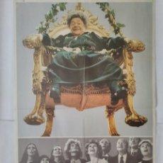 Cine: CARTEL CINE, MAMA CUMPLE 100 AÑOS, AMPARO MUÑOZ, FERNANDO F. GOMEZ, C318. Lote 116158387