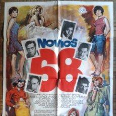 Cine: NOVIOS 68. POSTER ESTRENO 70X100. SONIA BRUNO, TERESA GIMPERA, ARTURO FERNÁNDEZ. Lote 126630544