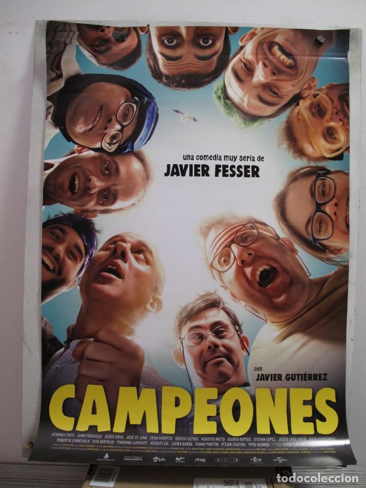 CAMPEONES (Cine - Posters y Carteles - Acción)