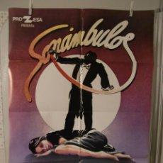 Cine: CARTEL CINE ORIG SONAMBULOS (1978) 70X100 / ANA BELEN / IVAN ZULUETA. Lote 116389015