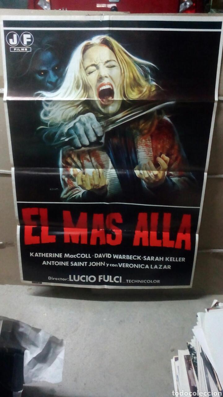 EL MAS ALLA LUCIO FULCI POSTER ORIGINAL 70X100 (Cine - Posters y Carteles - Terror)