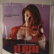Cine: CARTEL CINE ORIG UN NEGRE AMB UN SAXO (1989) 70X100 / GUILLERMO MONTESINOS, ROSANA PASTOR. Lote 116486323