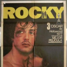 Cine: YK25 ROCKY SYLVESTER STALLONE BOXEO POSTER ORIGINAL 70X100 ESPAÑOL 1981. Lote 116542499