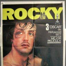 Cine: YK24 ROCKY SYLVESTER STALLONE BOXEO POSTER ORIGINAL 70X100 ESPAÑOL 1977. Lote 116542595