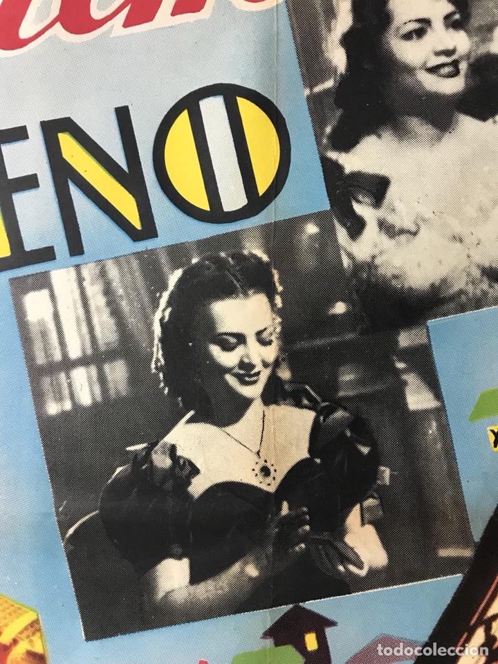 Cine: EL CAPITAN VENENO - SARA MONTIEL, FERNANDO FERNAN GOMEZ - POSTER ORIGINAL ESTRENO - Foto 8 - 116548871