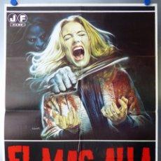 Cine: EL MAS ALLA - LUCIO FULCI, KATHERINE MACCOLL, DAVID WARBECK, SARAH KELLER - AÑO 1981. Lote 120397147