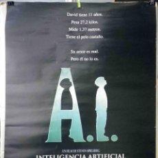 Cine: ORIGINALES DE CINE: A.I. INTELIGENCIA ARTIFICIAL. STEVEN SPIELBERG (JUDE LAW, WILLIAM HURT) EN ROLLO. Lote 116802711