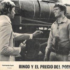 Cine: RINGO Y EL PRECIO DEL PODER. FOTO CARTEL. Lote 116866803
