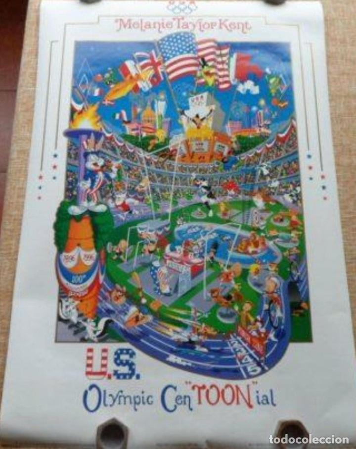 MELANIE TAYLOR KENT US OLYMPICS CEN´TOON´IAL POSTER, 1996, U.S.A., 24X36 INCHES (Cine - Posters y Carteles - Deportes)