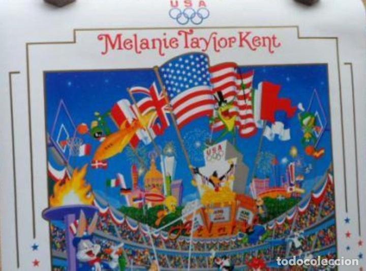 Cine: Melanie Taylor Kent US OLYMPICS CEN´TOON´IAL Poster, 1996, U.S.A., 24x36 inches - Foto 2 - 116972595