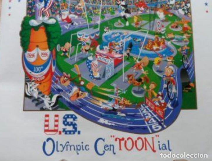Cine: Melanie Taylor Kent US OLYMPICS CEN´TOON´IAL Poster, 1996, U.S.A., 24x36 inches - Foto 3 - 116972595